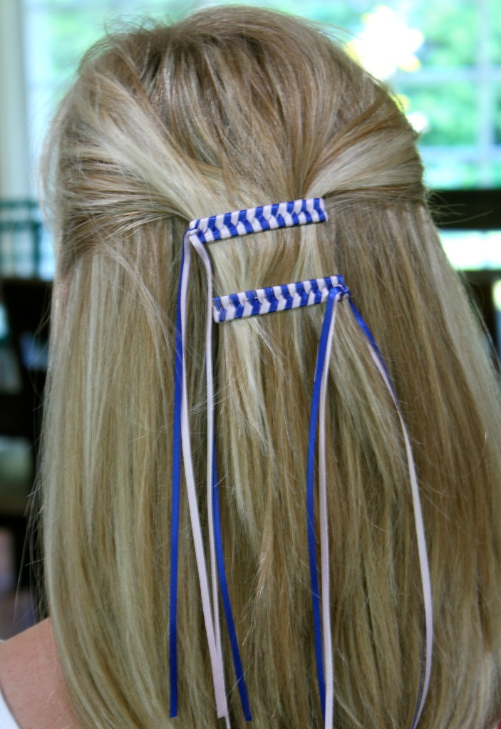 Remember These? 80s Braided Ribbon Barrettes