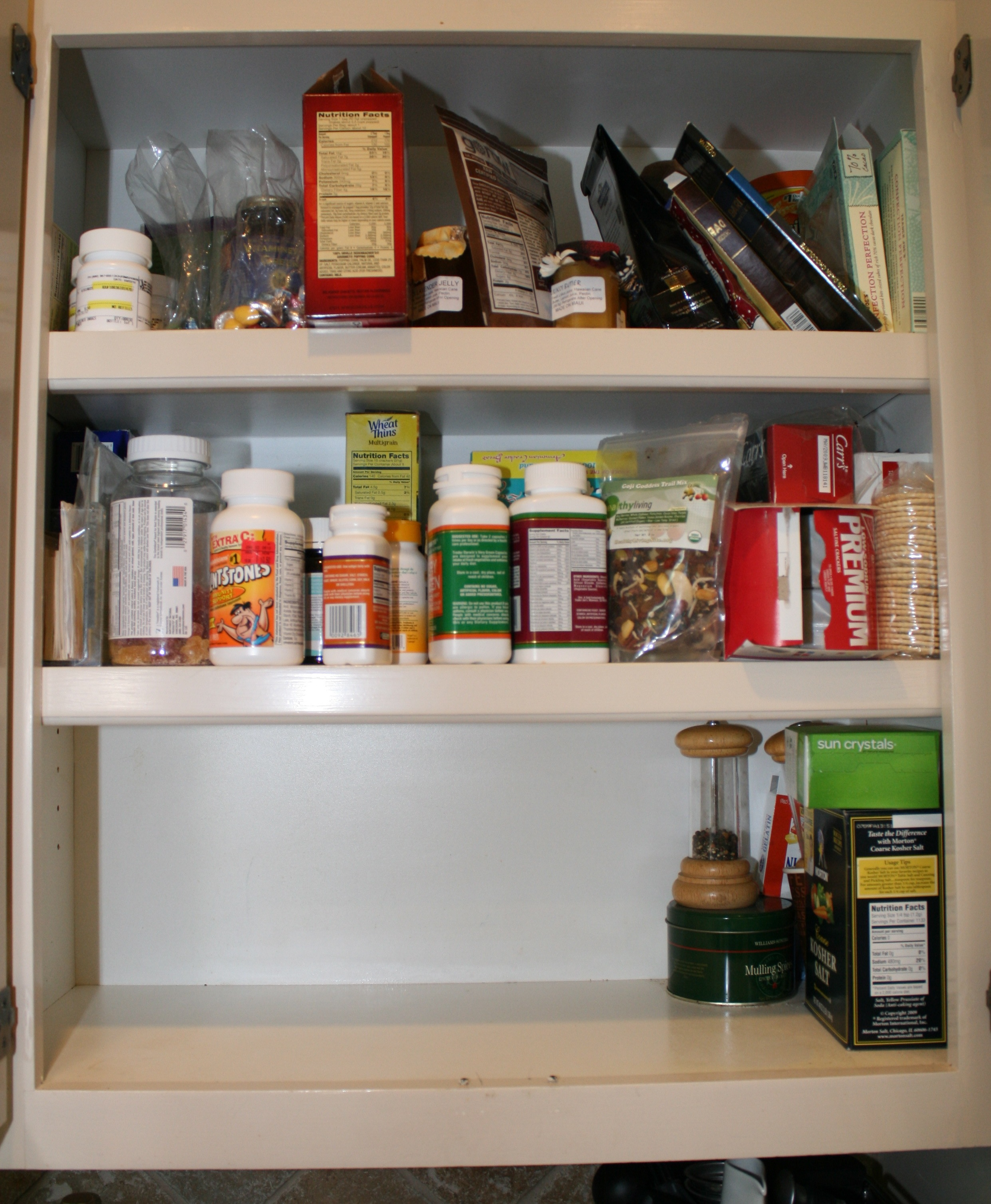 Messy Kitchen After Cooking: Small Organizing Frenzy