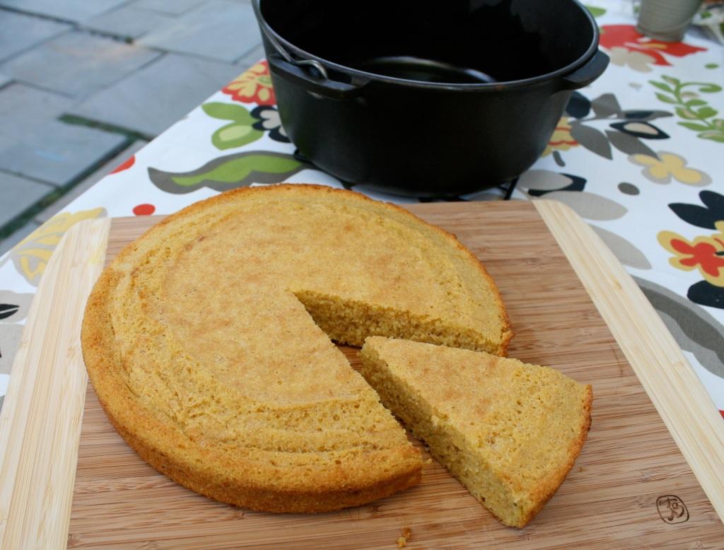 cast iron cornbread